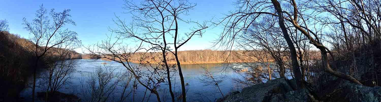 Potomac panorama from overlook